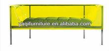 green comfortable acrylic sofa
