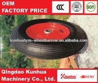 2013 Hot sale 7 inch rubber wheel 4.00-8