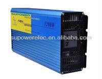 1200W 12V DC to 220V 240V Pure Sine Wave Power Inverter