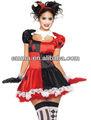 arlequín bufón de carnaval de disfraces vestido de payaso cc297 hacia arriba
