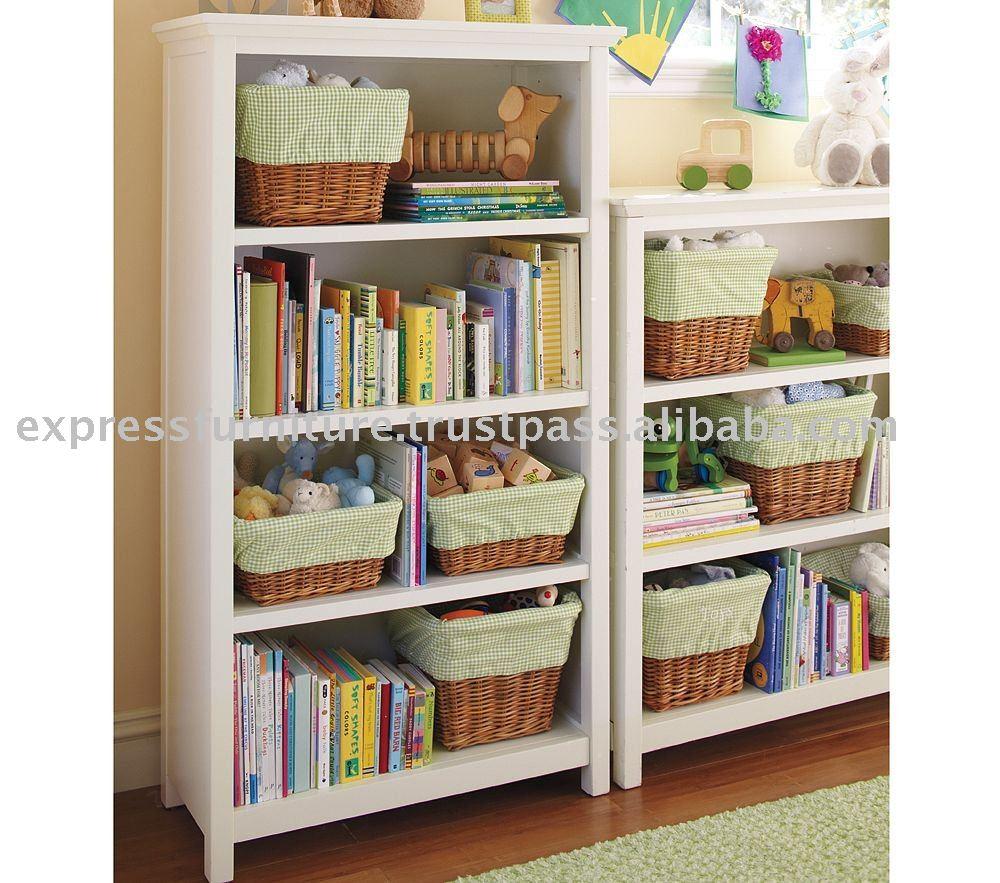 Estante para libros de 4 estantes paquete de muebles para - Estantes para libros ...
