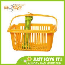 2013 hot sell Rectangular plastic laundry basket