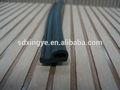Joint en caoutchouc, Porte bande d'étanchéité extrusions