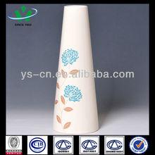 Ivory Tall Ceramic Vase Wedding Decoration