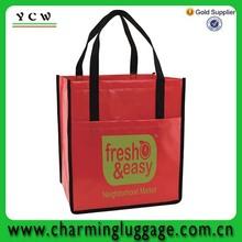china supplier cheaper pp woven laminated shopping bag