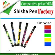 Factory OEM service wholesale e shisha pen ,disposable e shisha hookah cigarette,high quality diamond tip 300-800 puffs hookah