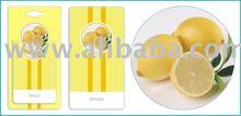 Lemon Car Home Paper Hanging Air Freshener