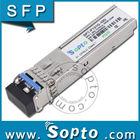 Networking SFP dual fiber optical module 10km 1.25G