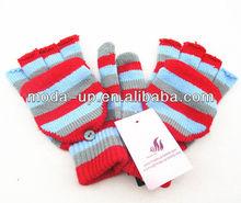 new custom fingerless gloves with cover