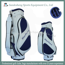 Hotsale Custom PU leather Golf Cart Bags