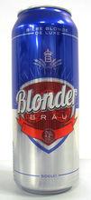 BLONDERBRAU BLOND BEER DE LUXE