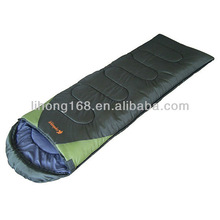 3 seasons envelope camping green military portable feather down sleeping bag
