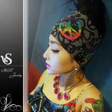2013 Fall and Winter Peace Symbol Carfts Headband