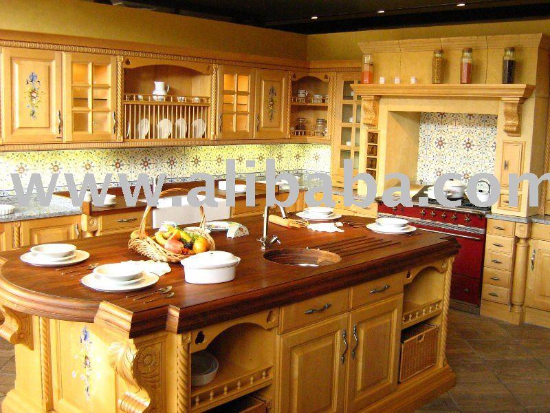 Cuisine en bois mod le jericho ak109 for Voir modele de cuisine