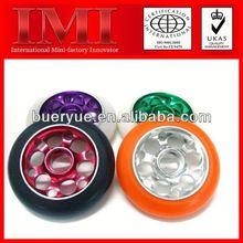 42-0012 color 16 inch wheelbarrow rubber pu solid caster wheel
