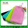 Hot!!! velvet phone pouch/Velvet phone bag