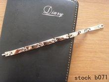 2014 New design fashion stainless steel Link Bracelet hand chain bangle bracelet london OEM