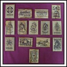 Holy Land Christian Olive Wood Fridge Magnets