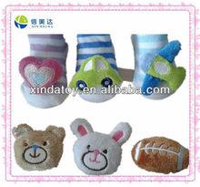 plush baby sock toy