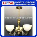 3 cabeças fashional e moderno europeu- estilo de desenho sala/sala de jantar/hotel/restaurante de decoração do candelabro de vidro