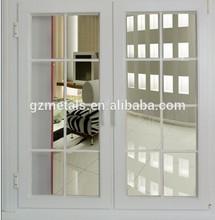 Aluminum window Aluminum blind inside pvc window and door