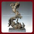 sculptures de chevaux en bronze
