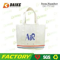 Cotton Supplier Top Sale custom book bag DK-TY140