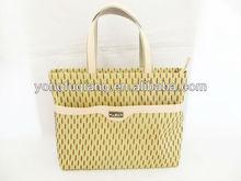 long handle nature cotton shopping bag