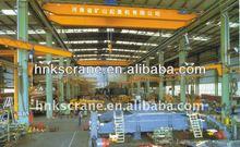 Double Girder Overhead Crane Mechanical Workshop Equipment