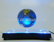 Magnetic Electric Floating led Globe For Home Decoration With led Light W8023