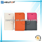 New arrival wallet card-slot pu leather cell mobile phone case