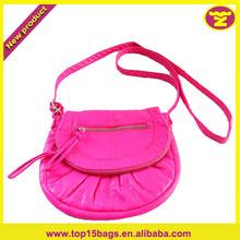 Flash Pink Color Cut Girls School Bag