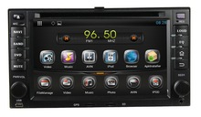 android double din car dvd gps for SPORTAGE CERATO SORENTO WS-9121