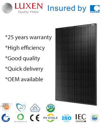 245W mono pv solar panel ALL BLACK