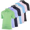 2013 brand name high quality DryTec Bold Stripe Golf Polo Shirts