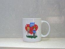 Custom print ceramic and glass Mugs, cups, ashtrays, etc..