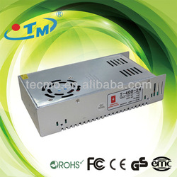 DC 12V 24V 48V 400W Constant Voltage Rainproof Waterproof IP65 switched model power supply With CE RoHS