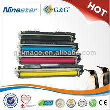 Hot!!! Compatible color cartridges for HP CE310A CE311A CE312A CE313A