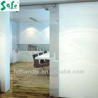 sliding glass door system for hotel office house