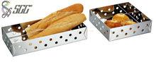 Rectangel & Square Stainless Steel Compote / Fruit Basket / Bread Basket