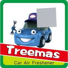 most popular flavour & fragrance /air freshener paper for car