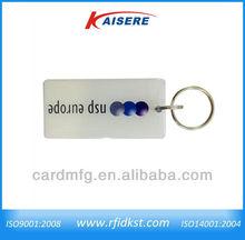 Custom rfid key fob waterproof ring epoxy