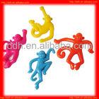 Plastic Novelty TPR stretch monkey toy/novelty animal toy