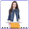 latest design women blue jeans jacket fashion women jacket 2013