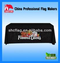 Polyester Logo Printed Table Cloth Table Throw