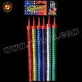 18cm vela de cumpleaños de fuegos artificiales/la fuente del partido
