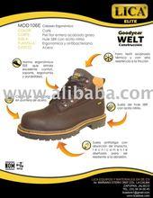 LICA work boots steel toe WELT
