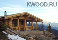 Hand crafted log homes
