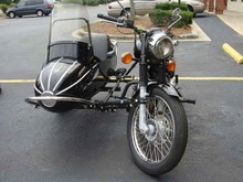 Royal Enfield 350 with Sidecar