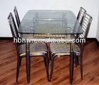 high quality glass dining table with low price